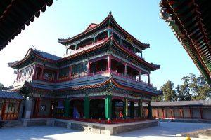Operatheater in het Zomerpaleis van de Chinese keizers.
