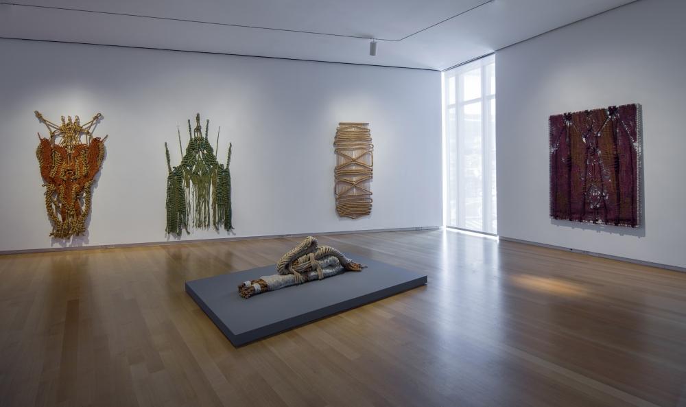 Overzicht van de tentoonstelling - foto Butcher Walsh.