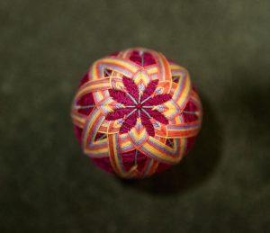 Een Temari-bal.