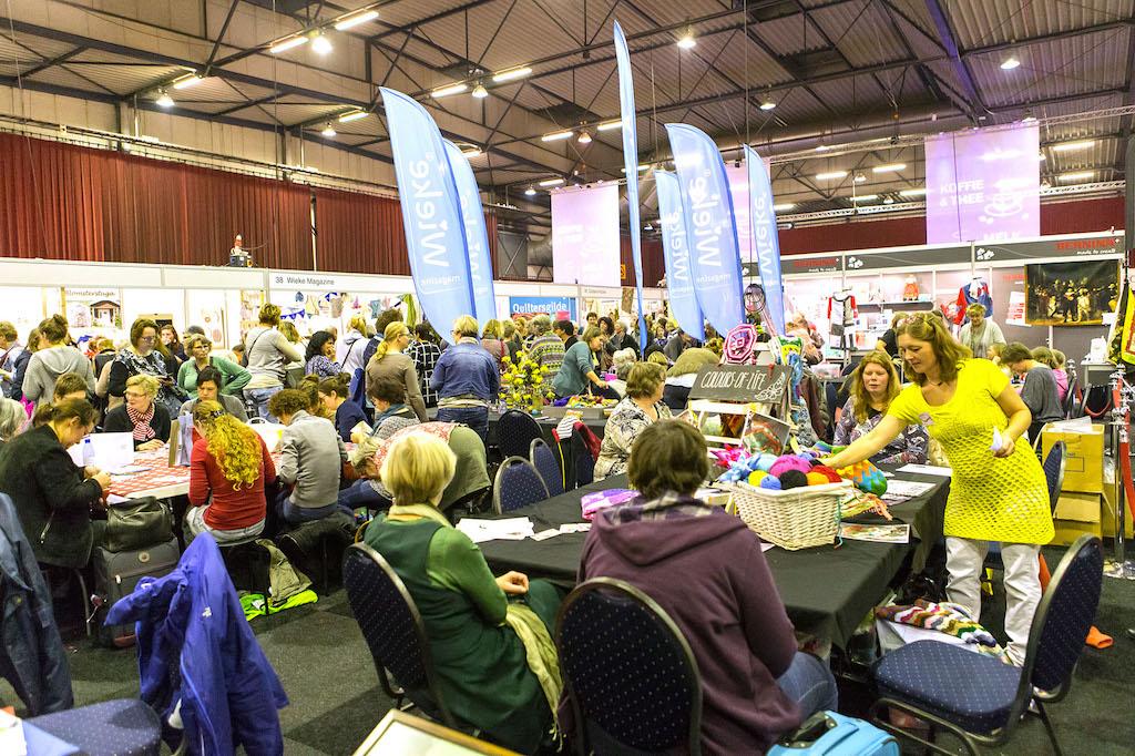 Er is een uitgebreid programma aan workshops.