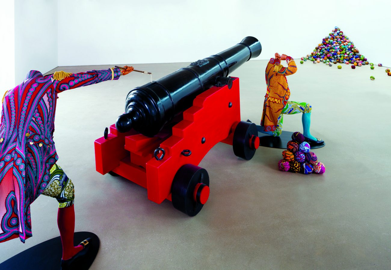 Cannonball Heaven, 2011, installatie.