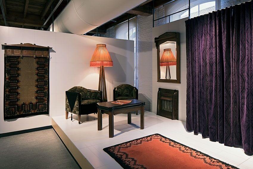 Overzicht tentoonstelling 'Ornamentale patronen' - foto Tommy de Lange.