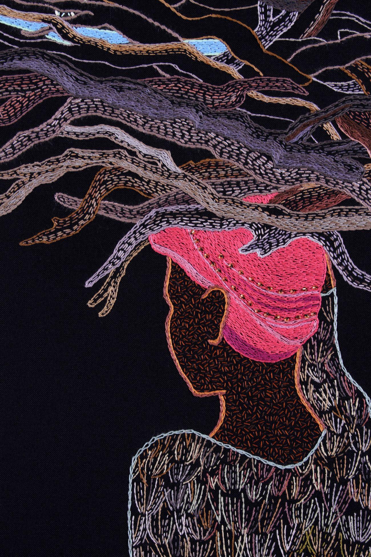 Welp moderne textielkunst – Handwerkwereld PL-11