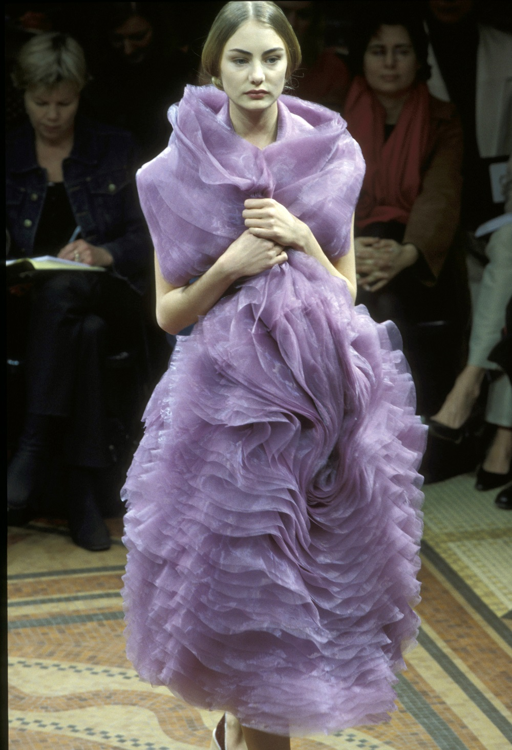 Junya Watanabe, Techno-couture collectie, herfst/winter 2000-2001 - foto Etienne Tordoir.