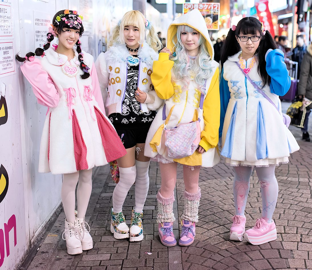 Kawaii-mode is uniek Japans - foto Tokyo Fashion News.