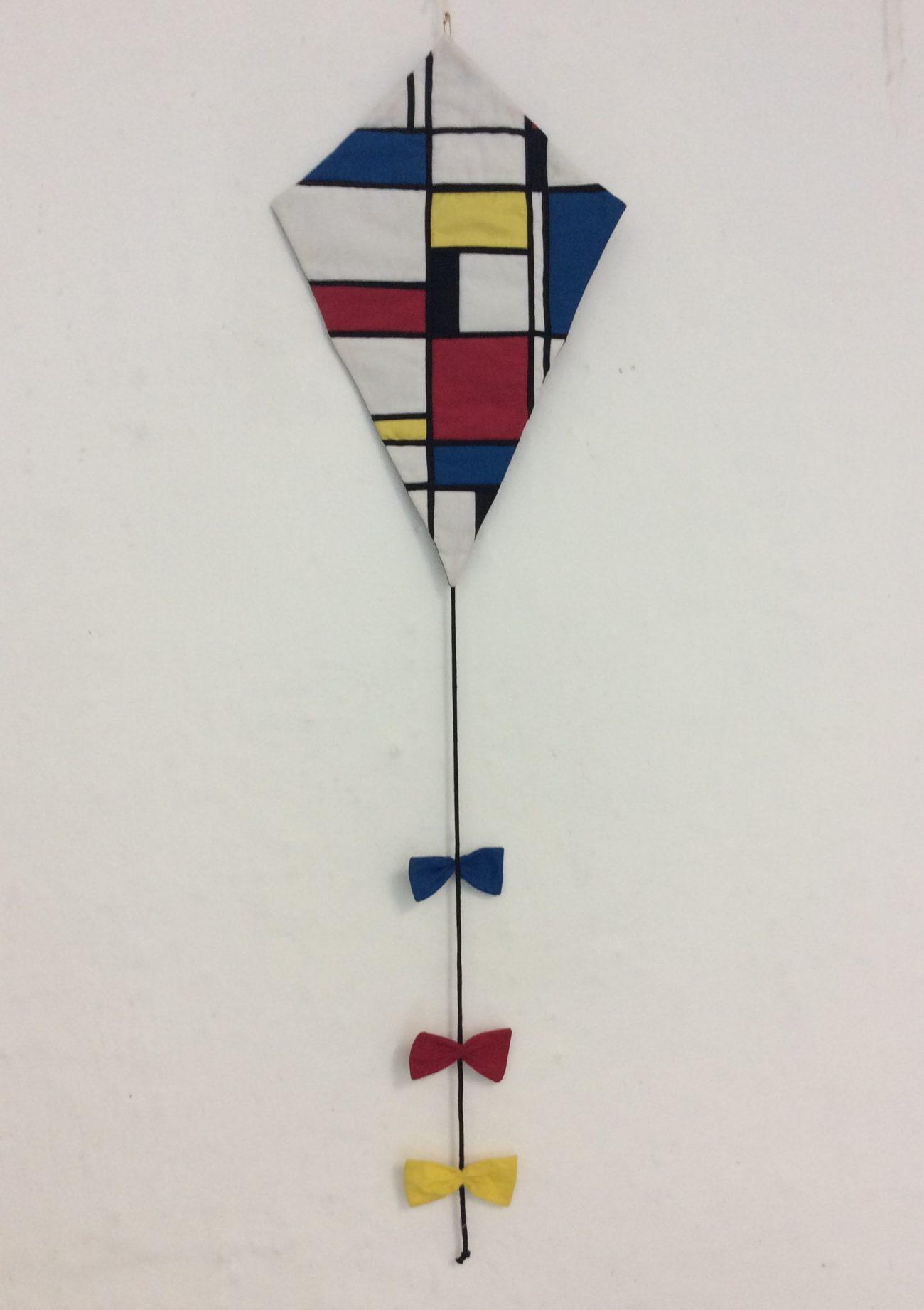 Corrie van Leeuwen - Vliegeren met Mondriaan.