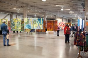 Overzichtsfoto van de tentoonstelling.