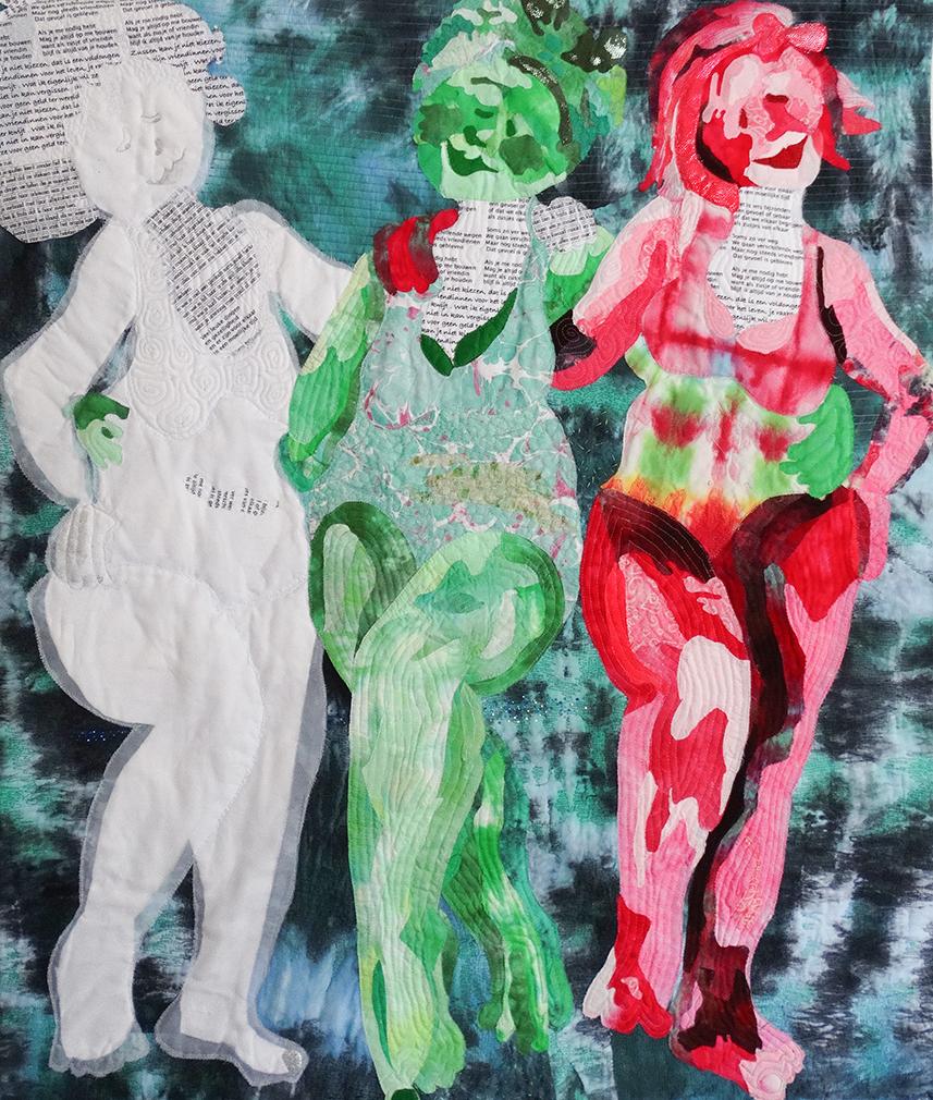 Werk van Mariëlle Huijsmans.
