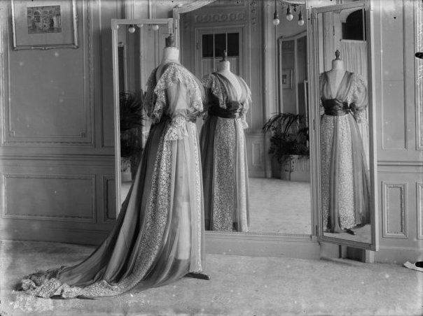 Foto van het interieur van modehuis Hirsch & Cie.