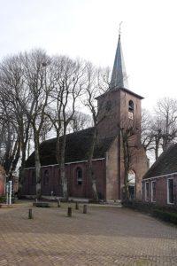 De kerk van Metslawier is nu een gemeenschapshuis, Mienskipshûs.