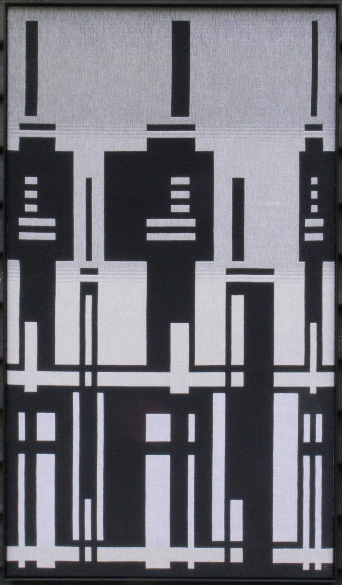 Marina L. van Dobben de Bruyn, 'Verstedelijking', dubbelweefsel.