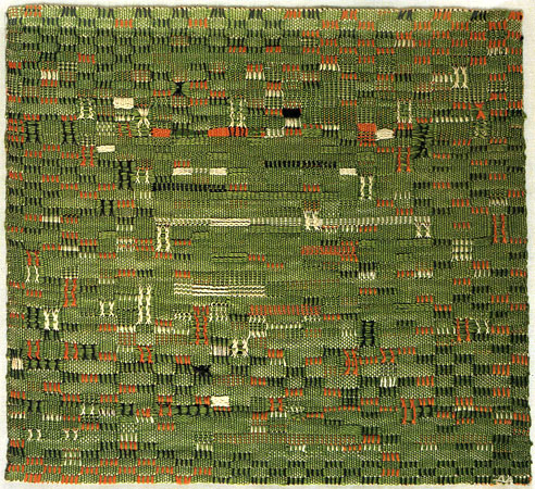 Anni Albers, Pasture, 1958, Metropolitan Museum of Art, New York.