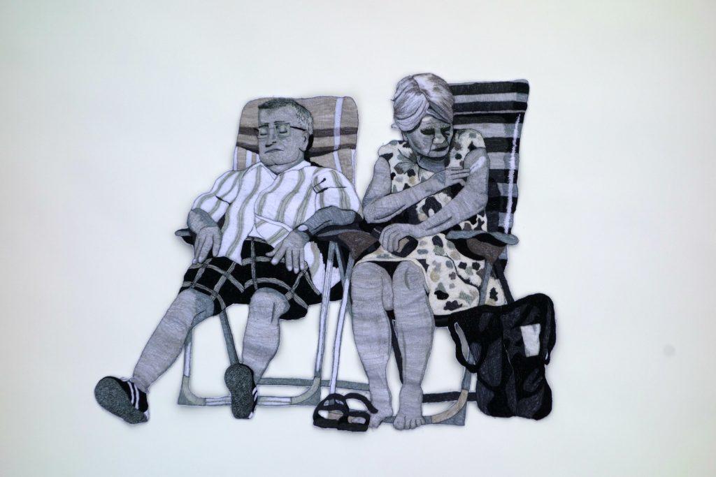 Werk van Sandra Mackus.