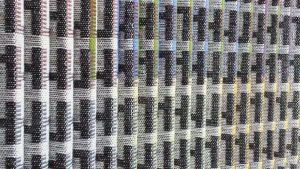 'Agam-o-weave' van Paulien van Asperen (detail).