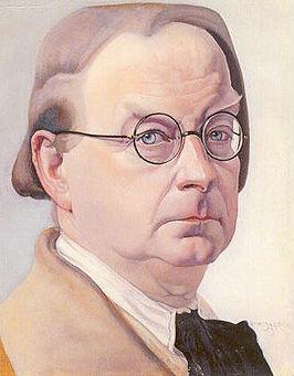 Chris Lebeau, zelfportret uit 1933.