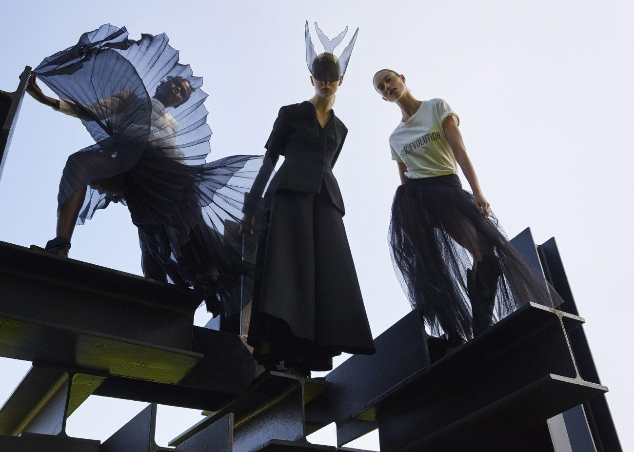 Dior (Maria Grazia Chiuri), voorjaar-zomer 2017 ready-to-wear en voorjaar-zomer 2017 haute couture - foto Petrovsky & Ramone.