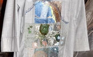 Detail uit de 'Zeven scheppingsdagen', vrijborduren.