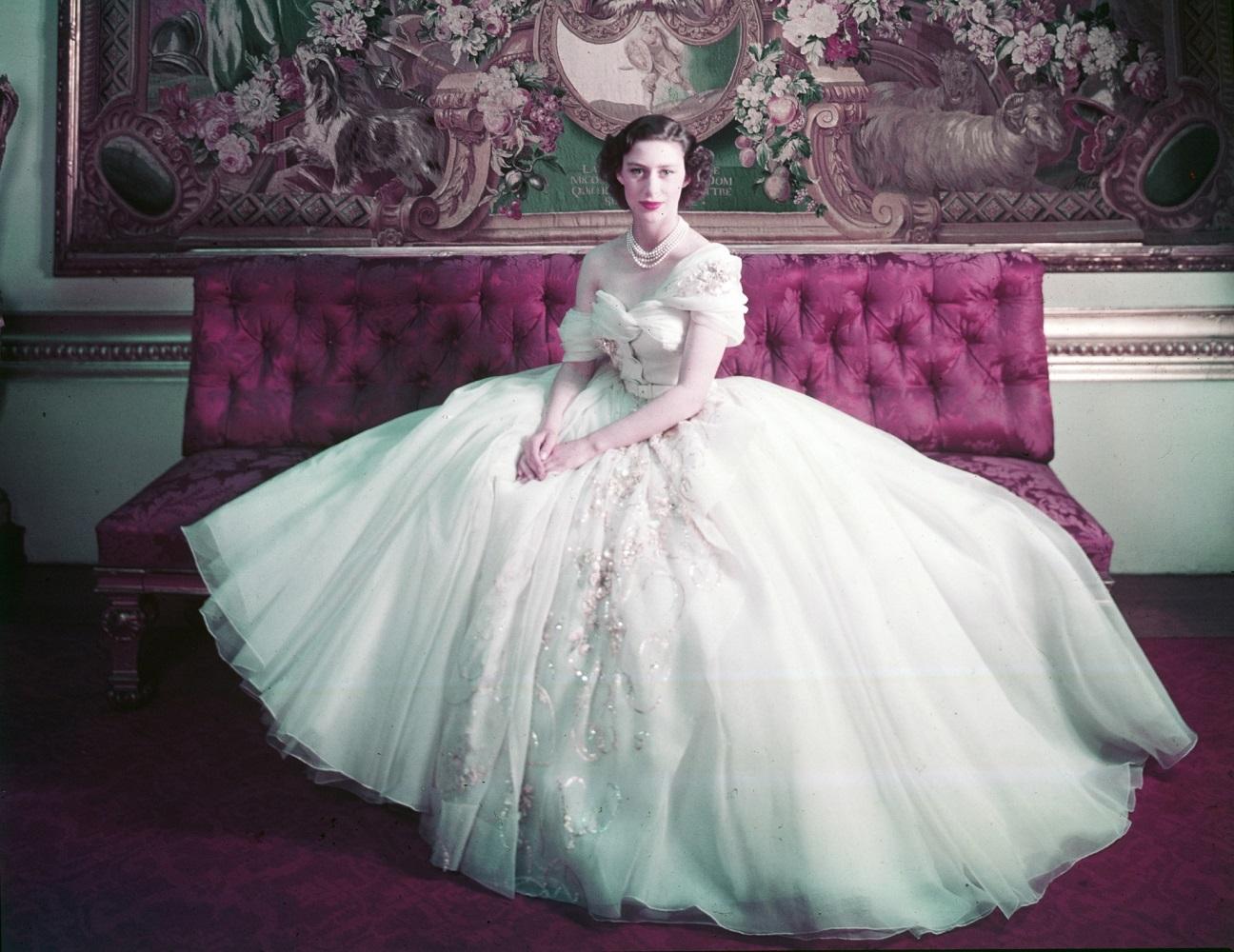 Prinses Margaret van Engeland (1930-2002) - foto Cecil Beaton (1904-80), Londen, GB, 1951.
