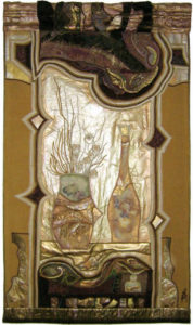 'Oglinda 82x148', werk van Maria Negreanu (RO).