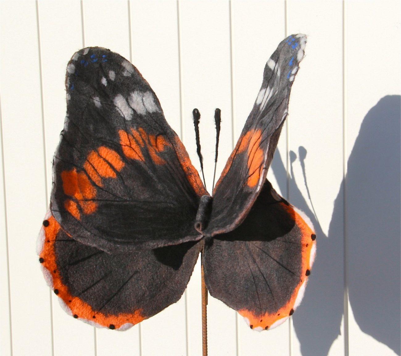 'Vlinder' van Meta Geerts.