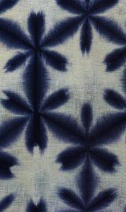 Itajime shibori - diverse Shibori-technieken - Handwerkwereld