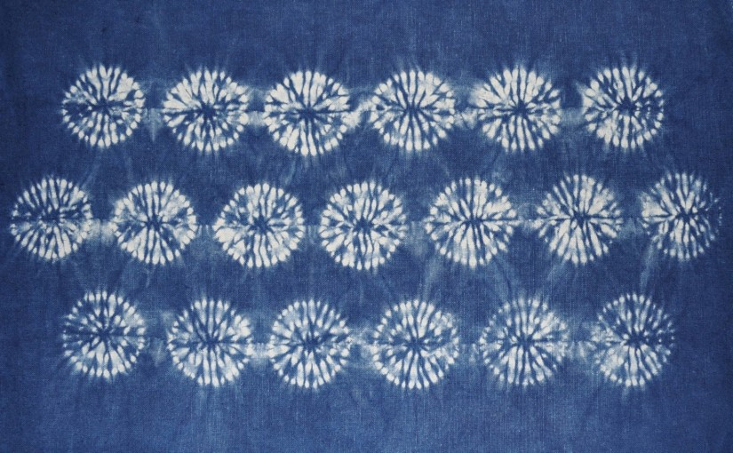 Karamatsu shibori - Handwerkwereld