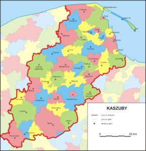 Kasjoebië is een regio in Noord-Polen - Handwerkwereld