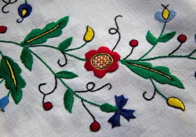 Kasjoebisch borduurwerk - Handwerkwereld