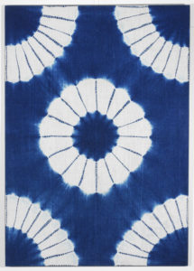 Maki-age shibori - diverse Shibori-technieken - Handwerkwereld