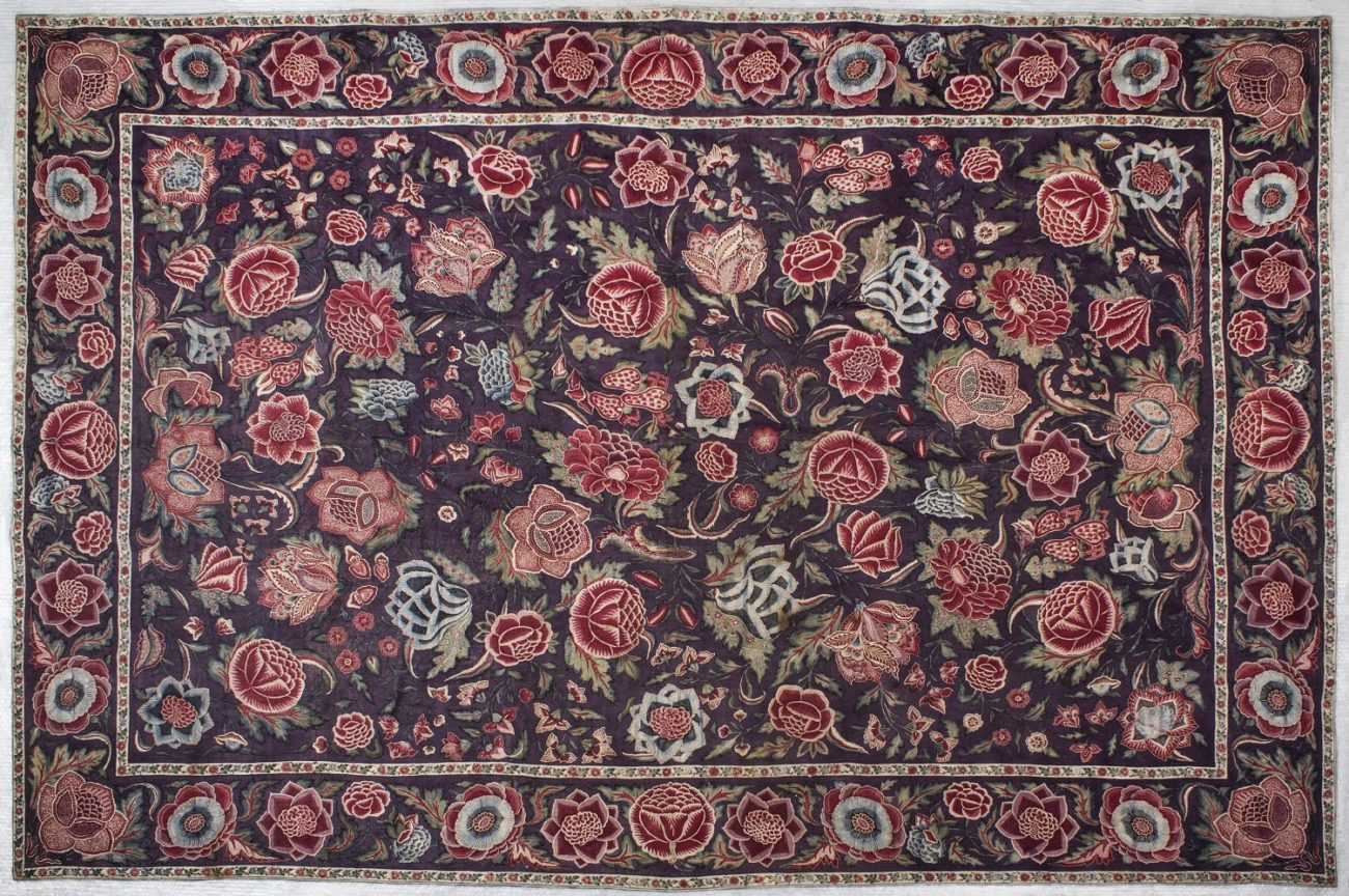 Palempore in chintz, India, circa 1700-1725 - Handwerkwereld