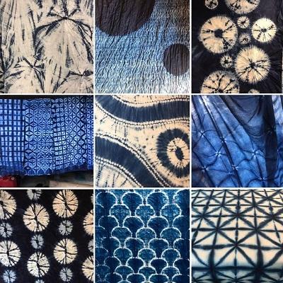 Shibori-voorbeelden - Handwerkwereld