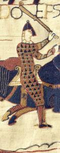 Afbeelding van Odo, vermoedelijke opdrachtgever van het borduurwerk - Handwerkwereld