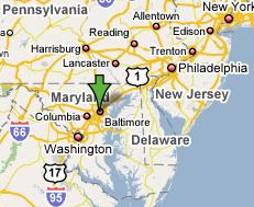 Baltimore in Maryland, VS - Handwerkwereld