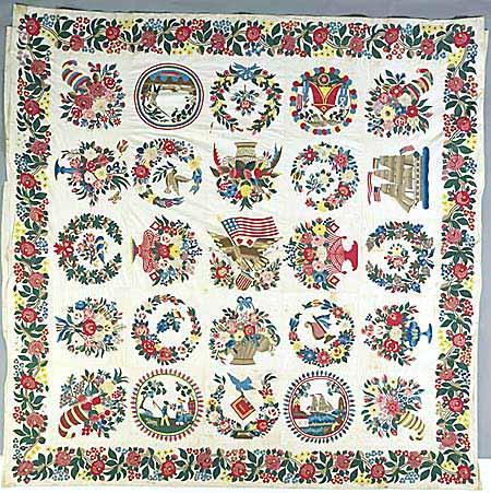 Deze quilt werd in februari 2006 verkocht voor $ 58.000 - Handwerkwereld