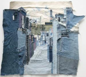 Choi So Young - Zijstraatje, 2007, (73 x 85.1 cm) - Handwerkwereld