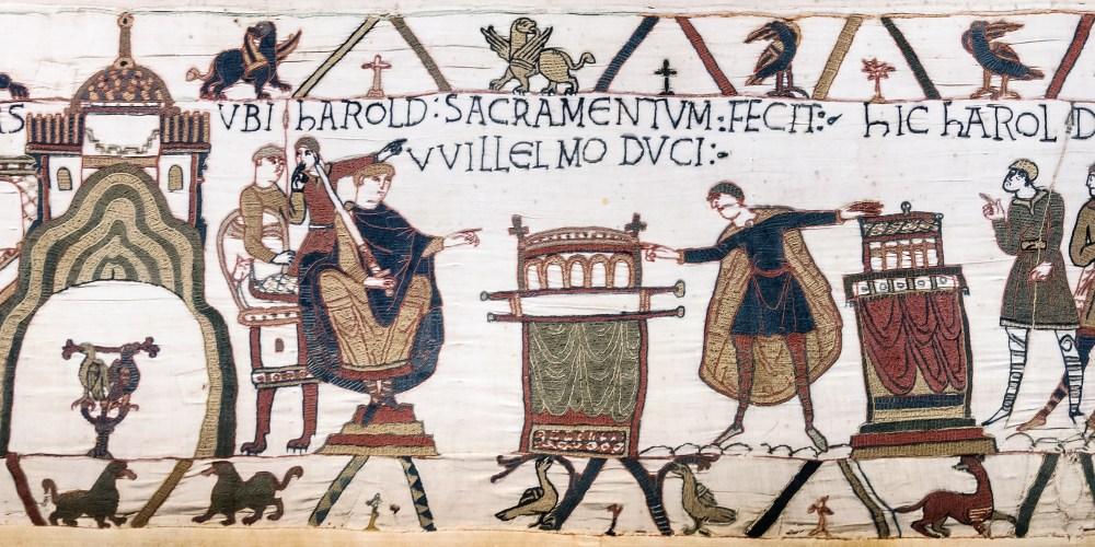 De Tapisserie de Bayeux - Handwerkwereld