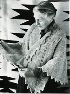 De Pi-sjaal - Elizabeth Zimmermann - Handwerkwereld