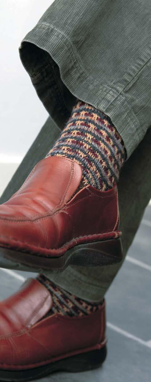 Fair Isle sokken - Handwerkwereld