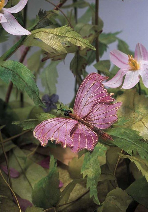 Vlinder met gouddraad - Handwerkwereld