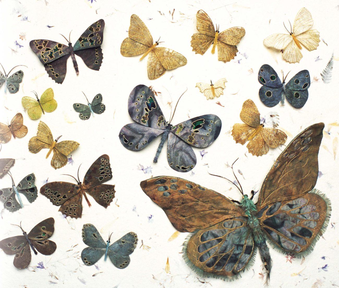 Jane Hall vlinders - Handwerkwereld