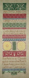 Merklap met Keltische motieven - Handwerkwereld
