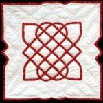 Gequilt Keltisch motief - Handwerkwereld