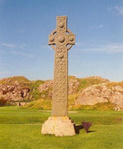 Keltische stele - Handwerkwereld