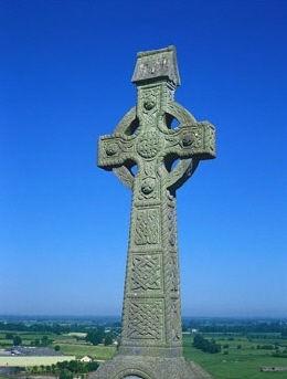 Keltisch kruis Ierland 7de eeuw - Handwerkwereld