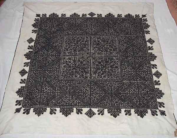 Borduurwerk uit Fez - Marokkaans borduren - Handwerkwereld