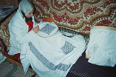Borduren in Fez - Marokkaans - Handwerkwereld
