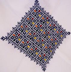 Borduurwerk uit Fez detail - Marokkaans borduren - Handwerkwereld