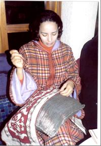 Marokkaans borduren in Azemmour - Handwerkwereld