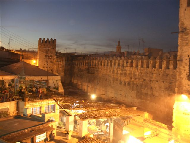 Stadsmuur van Fez - Handwerkwereld
