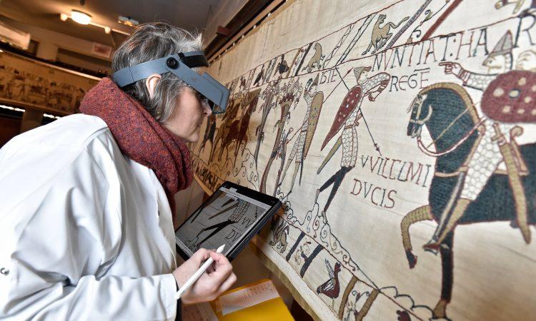 Onderzoek van de Tapisserie de Bayeux met behulp van SIDS - Handwerkwereld